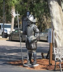 Ponce de Leon at Fountain of Youth