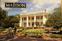 Per the postcard, Madison is one of the 16 Most Beautiful Towns in the World