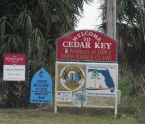 Entrance to Cedar Key