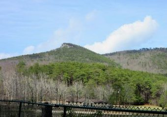 Cheaha Mtn in the sun