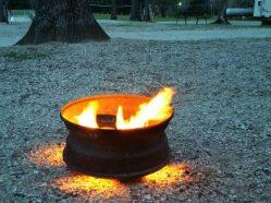 Campfire in Kentucky