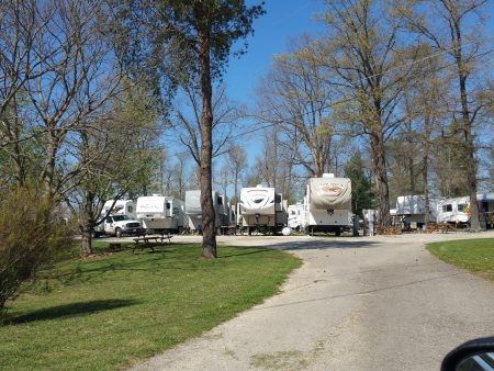 Glendale Campground Elizabethtown Ky Home On The Roam