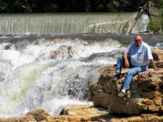 Jim at Grand Falls, MO
