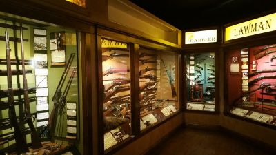 Some of the gun displays
