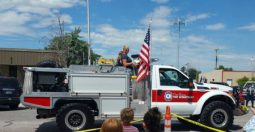 Fire & rescue and law enforcement were represented.