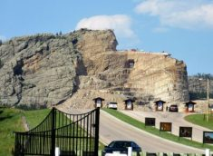 Crazy Horse from highway