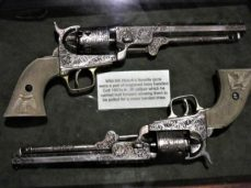 Hickok's favorite guns