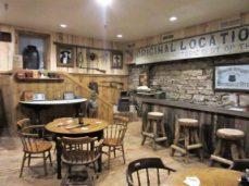 Original bar of saloon