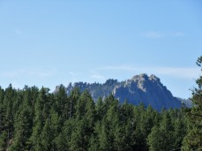 Many granite peaks to see