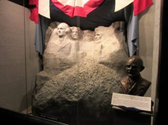 Gutzon Borglum created Rushmore Memorial
