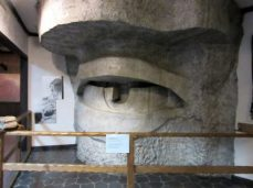 Design Borglum came up with to give life to granite eyes.