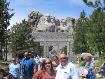 We made it to Mt. Rushmore.