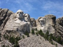 Iconic Rushmore Memorial