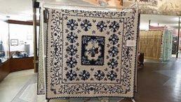 Quilt at show at Plainsman Museum