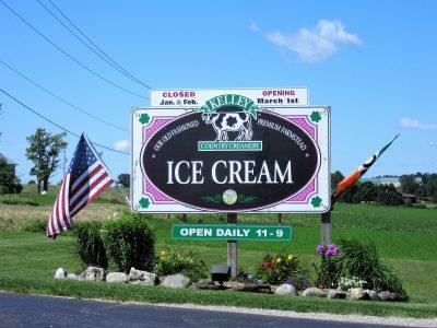 Creamery entrance