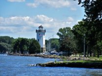 I love lighthouses - on Lake Winnebago