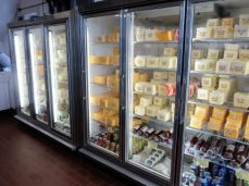 Cheese selections at Union Star