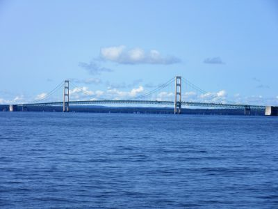 Mighty Mac from our ferry boat