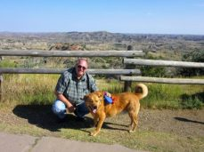 Jim & Chewie at Painted Canyon