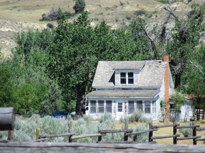 Peaceful Valley Ranch house - from 1880s