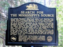 Info on the search for MS River headwaters