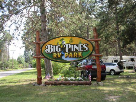 Big Pines RV Park Rapids MN