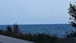 Lake Michigan near the Straits of Mackinac