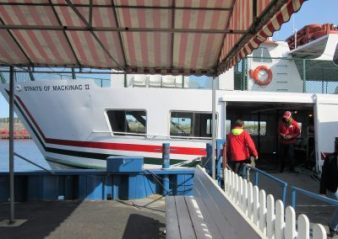 Our ferry - Straits of Mackinac II