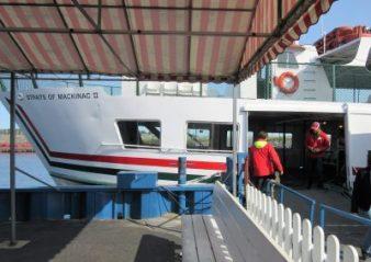 Our ferry - Straits of Mackinac II