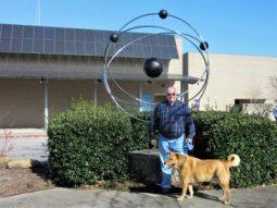Atom Sculpture at Oak Ridge, TN