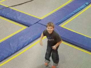 Liam bouncing