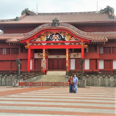 Shirijo Castle from courtyard