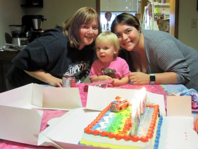 Angela, Amanda, & Abby - birthday girls
