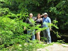 Jim, Ris, & Josh - Burden Falls