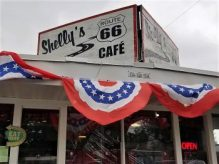 Shelly's Route 66 Cafe for brunch