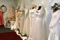 Bride's gowns through time