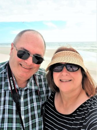 Jim and Angela at Pensacola Beach 2018